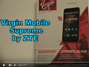 ZTE Virgin Mobile Supreme