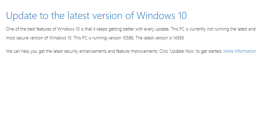 Windows 10 Anniversary Update available
