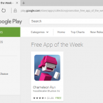 Google Play Store Now has Free App of the Week!