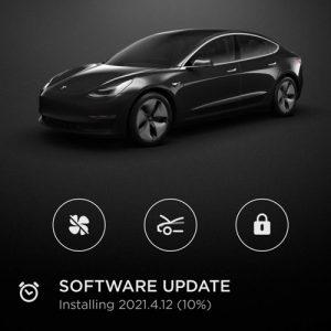 Tesla 2021.4.12